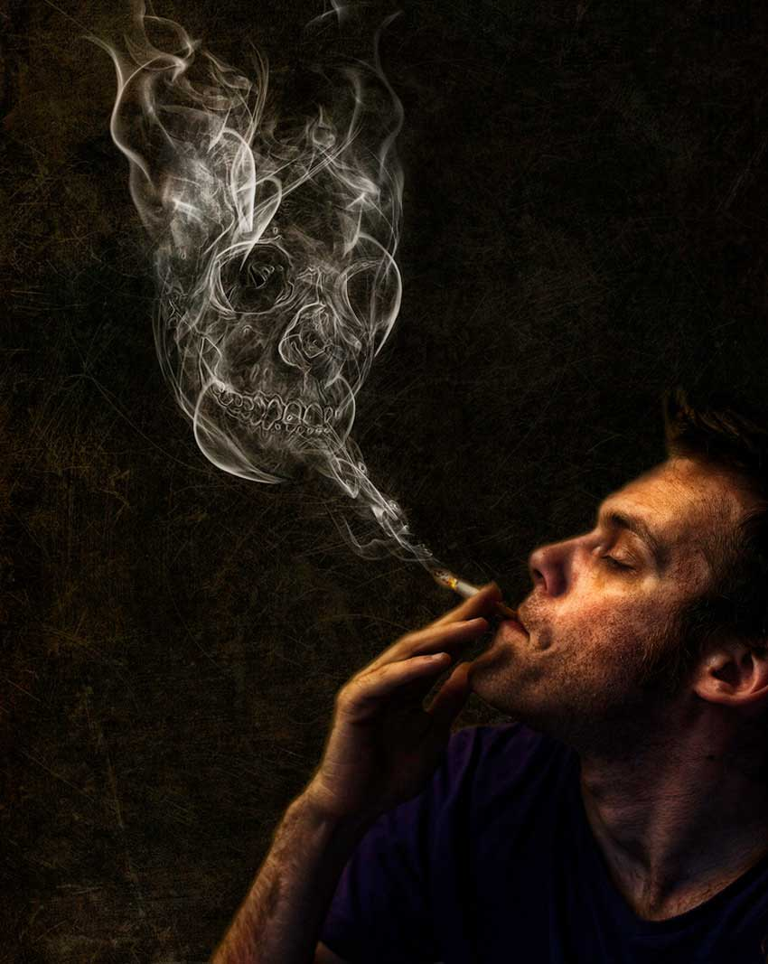 Photoshop Smoke Manipulation by Adrian