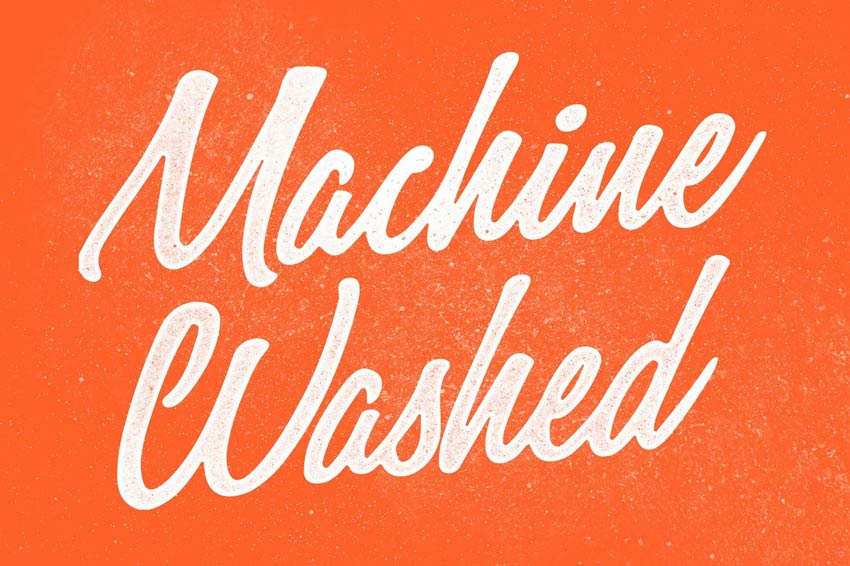 Machine Washed Photoshop Brush Presets