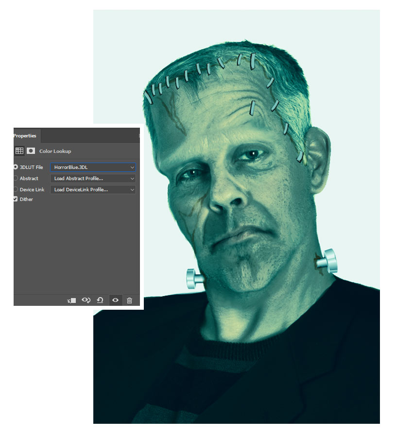 Add Color Lookup to Color Frankenstein