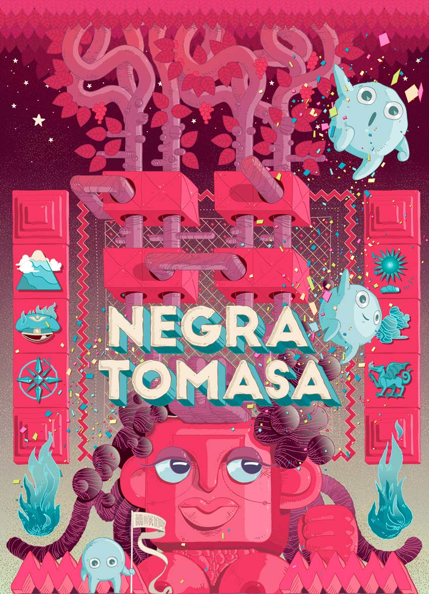 Negra Tomasa Artbook I Art by Fu