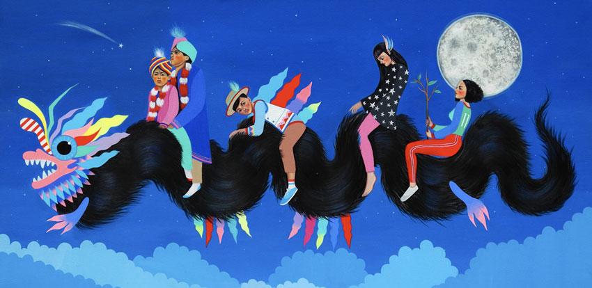 La Fuerza Art by Paula Duro