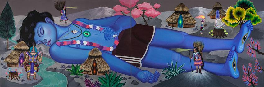 El Gigante Dormido Art by Paula Duro