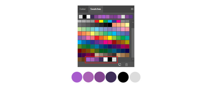 Swatch Preset Colors