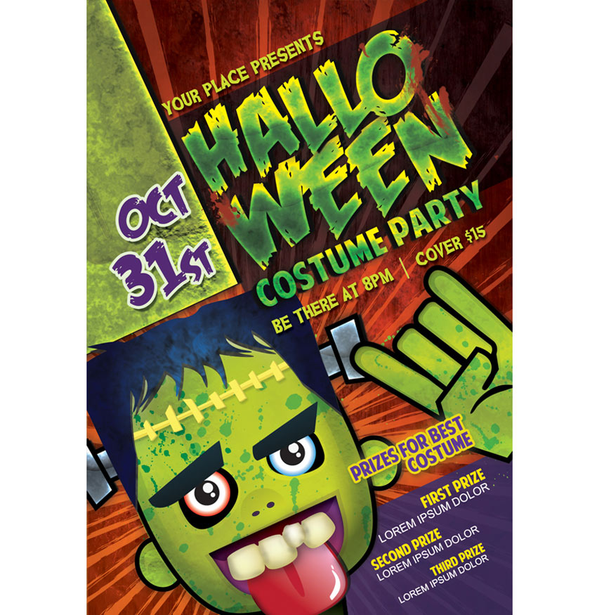 Costume Halloween Party