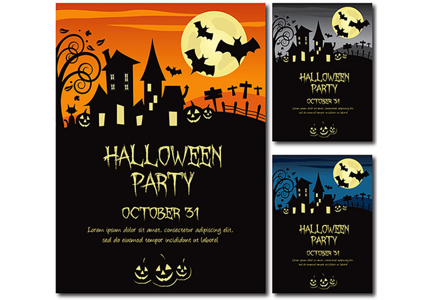 50 Invitaciones Y Folletos De Halloween Impresionante Para