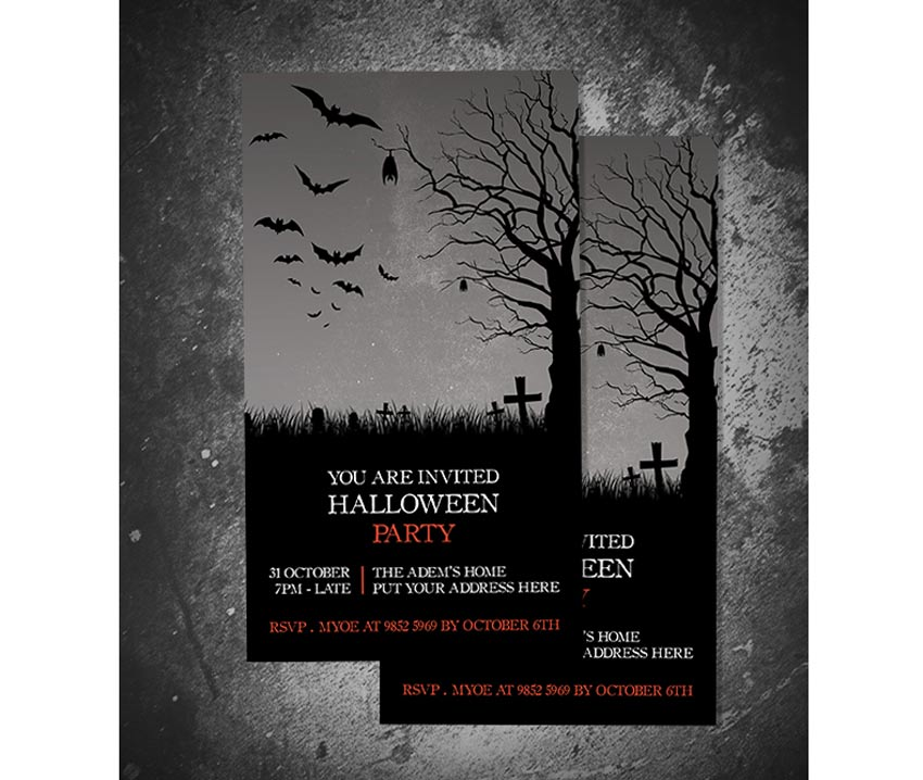 Halloween Invitation II