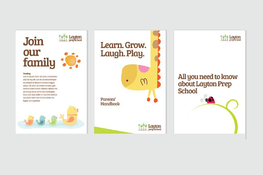 Layton Prep School Brand Identity by Noella Ekezie
