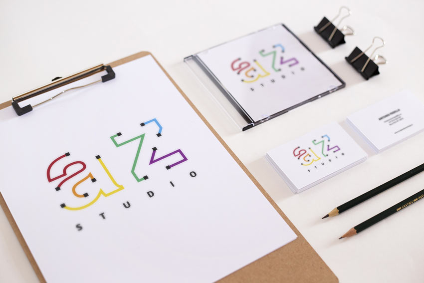 AZ Studio Logo by Carolina Espinal Beato