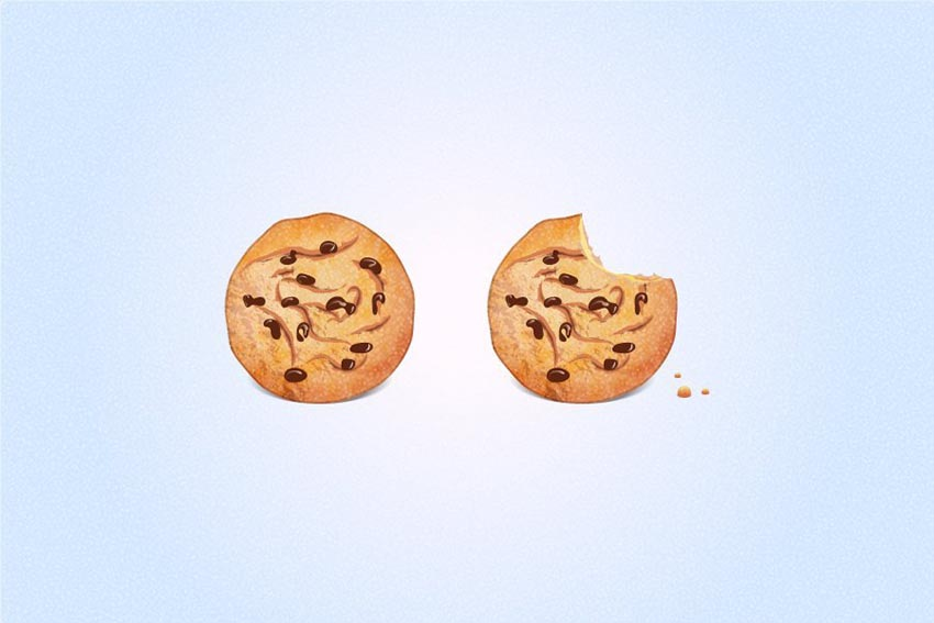Vector Chocolate Chip Cookies by Alena