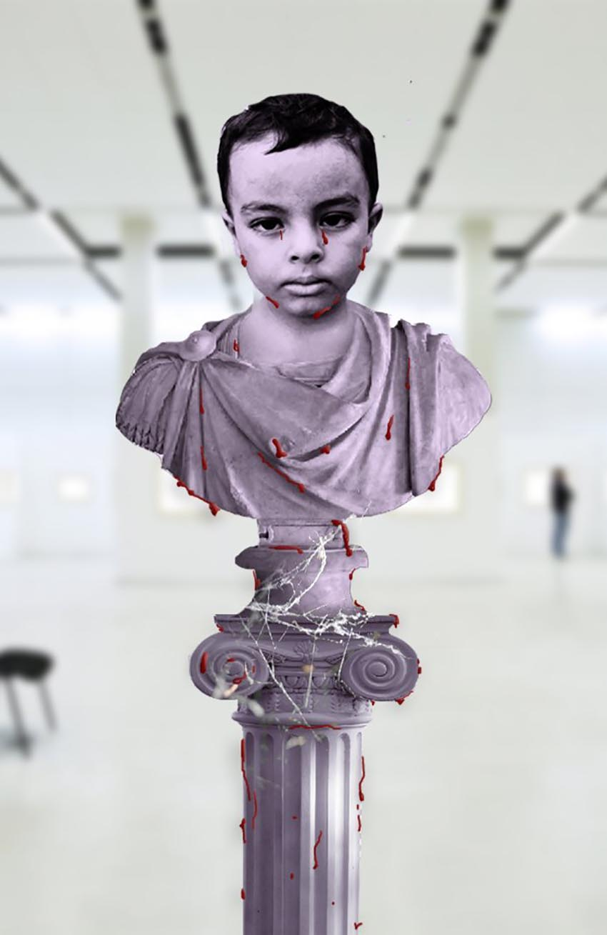 Photoshop Greek Sculpture by Mohsin Raza