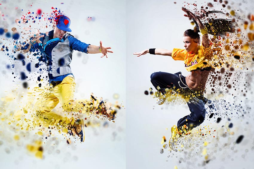 Dispersion 2 Photoshop Action Download