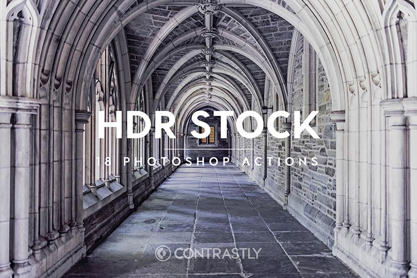 HDR Stock Photoshop Actions