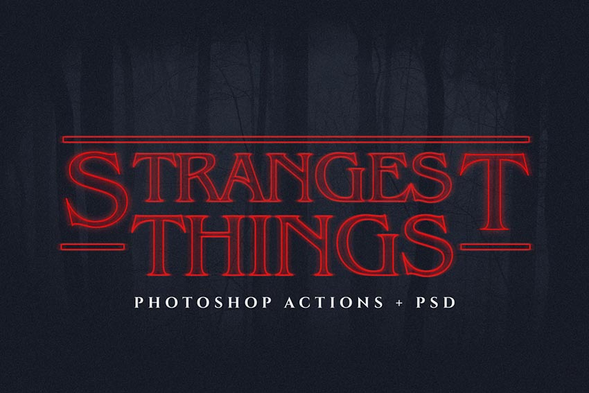 Strangest Things Ps Text Actions