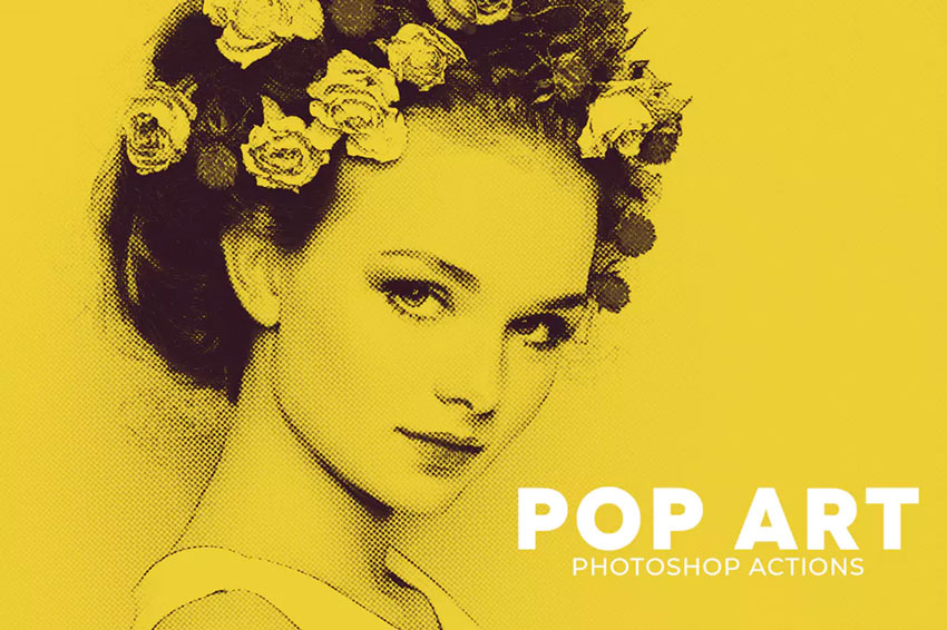 Pop Art Photoshop Actions Download