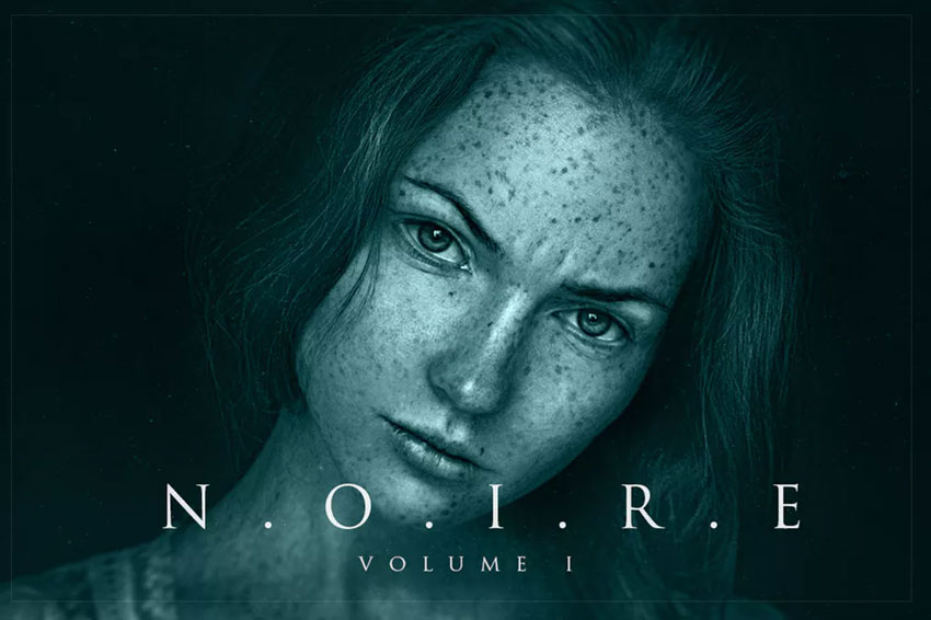 Noire Photoshop Actions Download