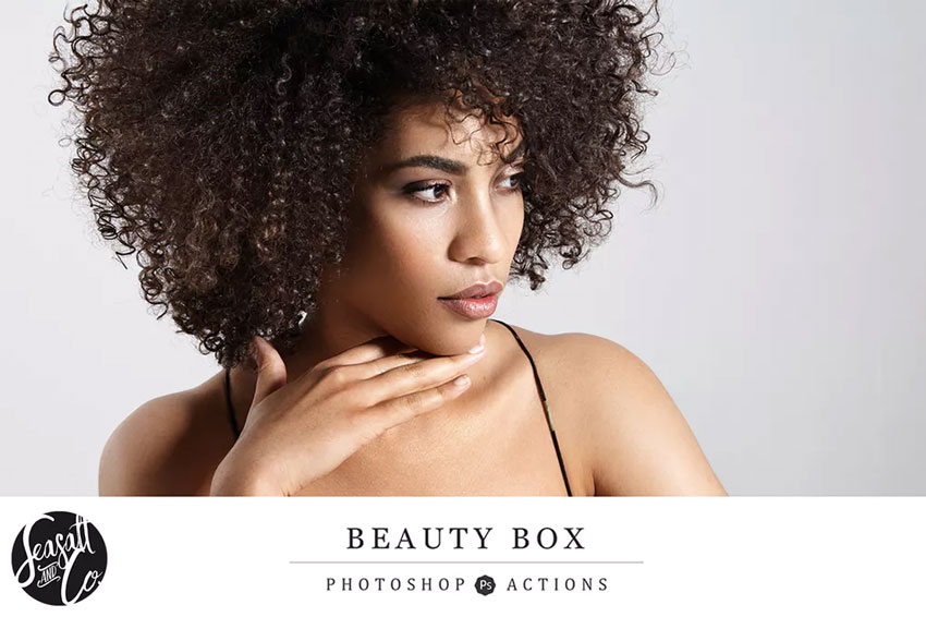 Beauty Box Photoshop Action