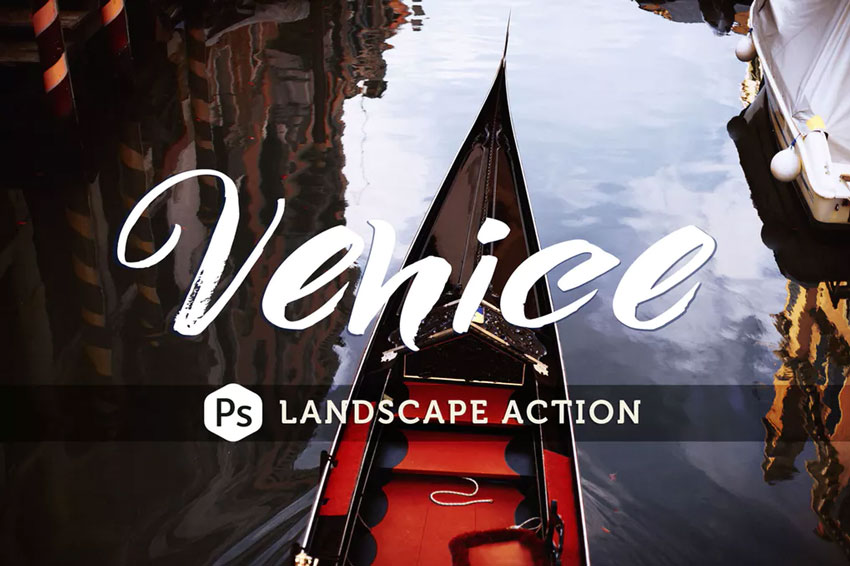 Venice Landscape Photoshop Action