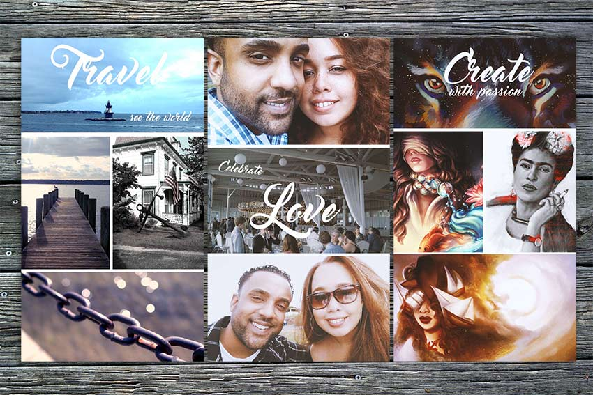 Create a Photo Grid in Adobe Photoshop