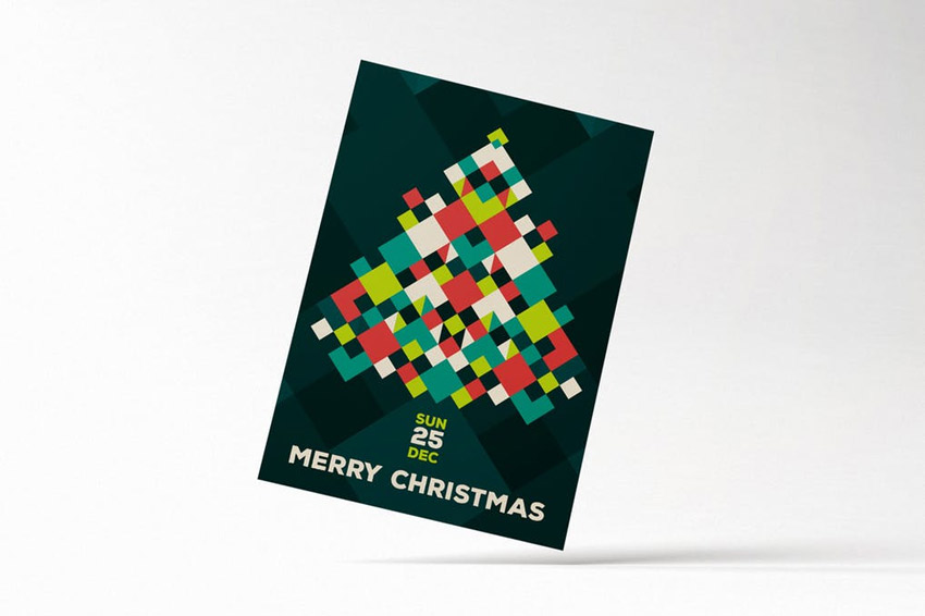 Modern Merry Christmas Flyer