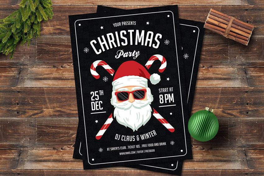 Christmas Santa Flyer