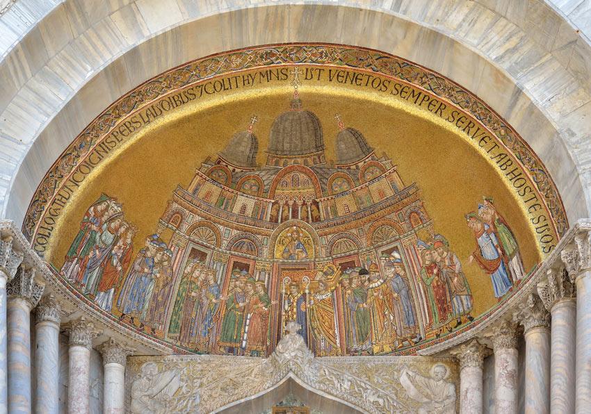 Byzantine Art Mosaic