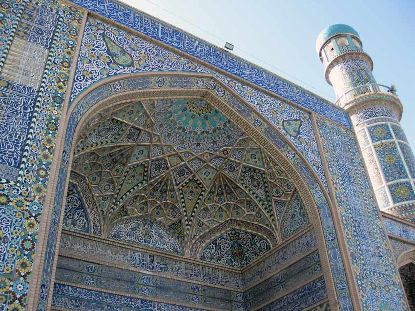 Mosiac Art Friday Mosque of Herat