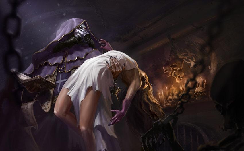 Toxicated Sins - Concept Art by Jonas Petrauskas