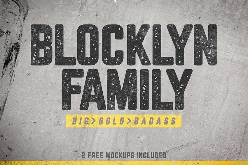 Blocklyn Font Family