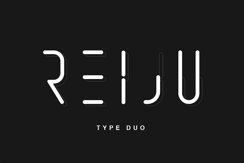 Reiju - Typeface Duo