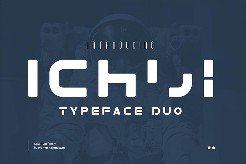 Ichiji - Typeface Duo