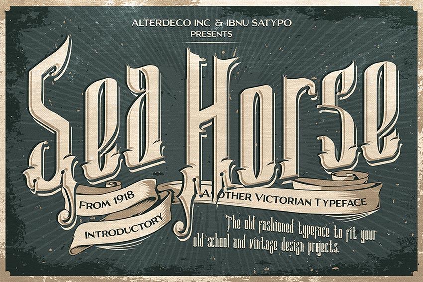 Sea Horse Typeface