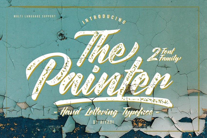 The Painter Font