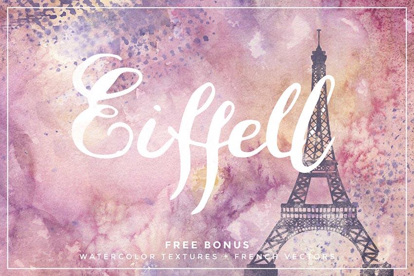 Eiffell Brush Script Font