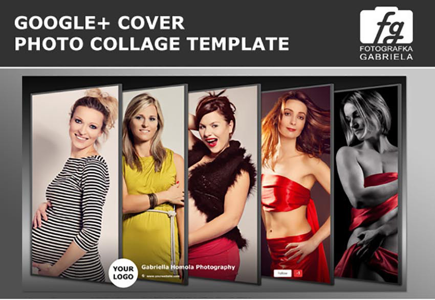 Google Plus Cover Template