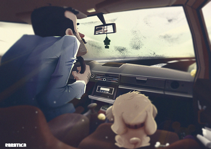 Cinematic Illustrations by Ahmet Iltas