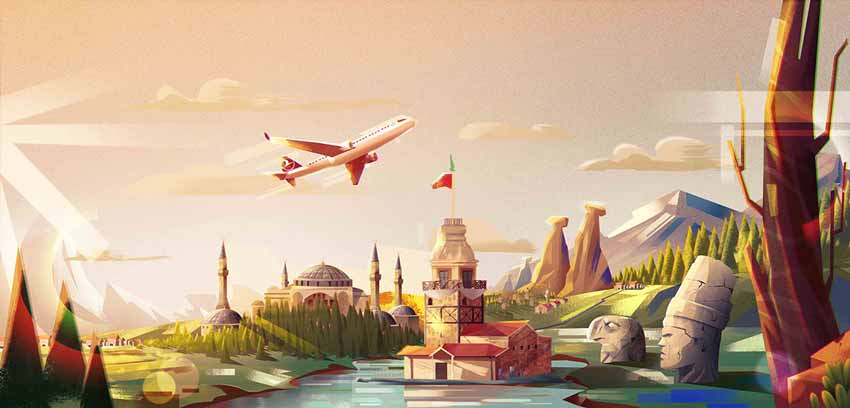Turkish Airlines by Ahmet Iltas