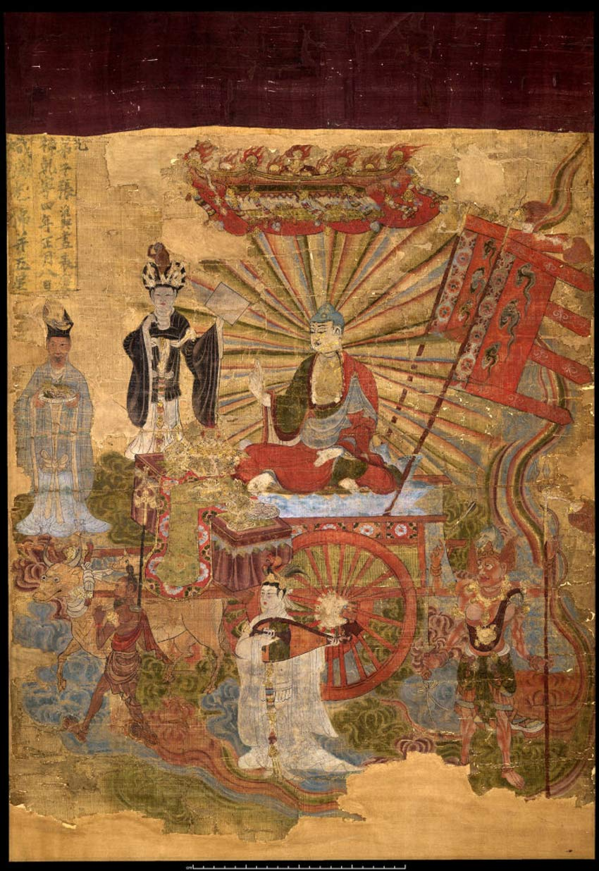 History of art asian art for Dynasty mural works