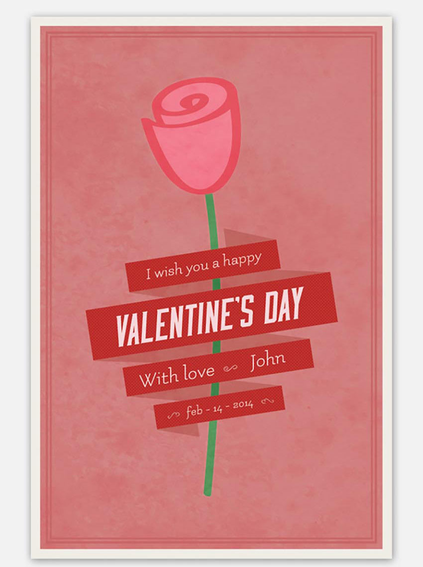 Share the Love With 49 Valentine\'s Day Templates, Flyers, and Cards