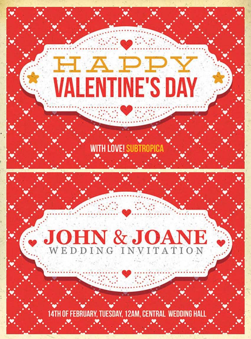 Comparte el Amor Con 49 Plantillas, Volantes y Tarjetas del Día de ...