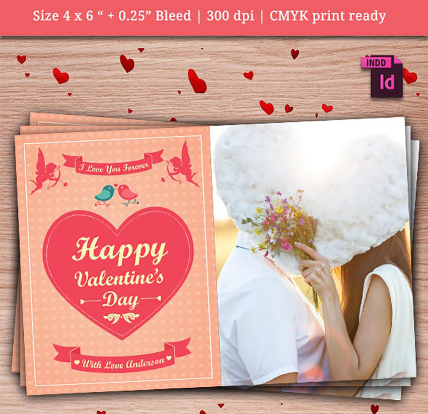 Share the Love With 49 Valentines Day Templates Flyers and Cards – Valentine Day Love Cards