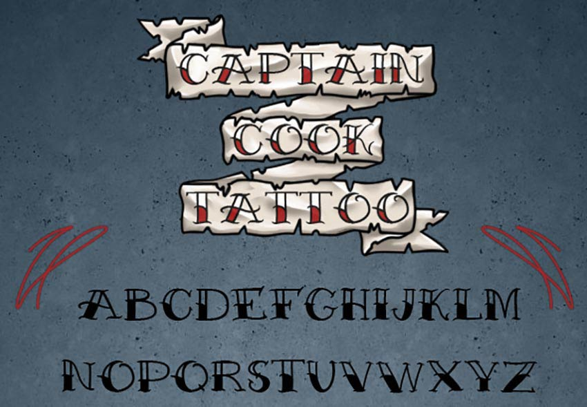 49 Epic Tattoo Fonts