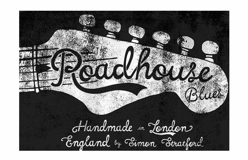 Roadhouse Blues Font