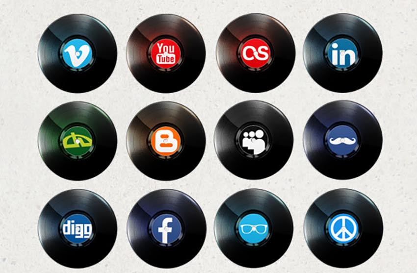 Creative Pack Social Media Icons
