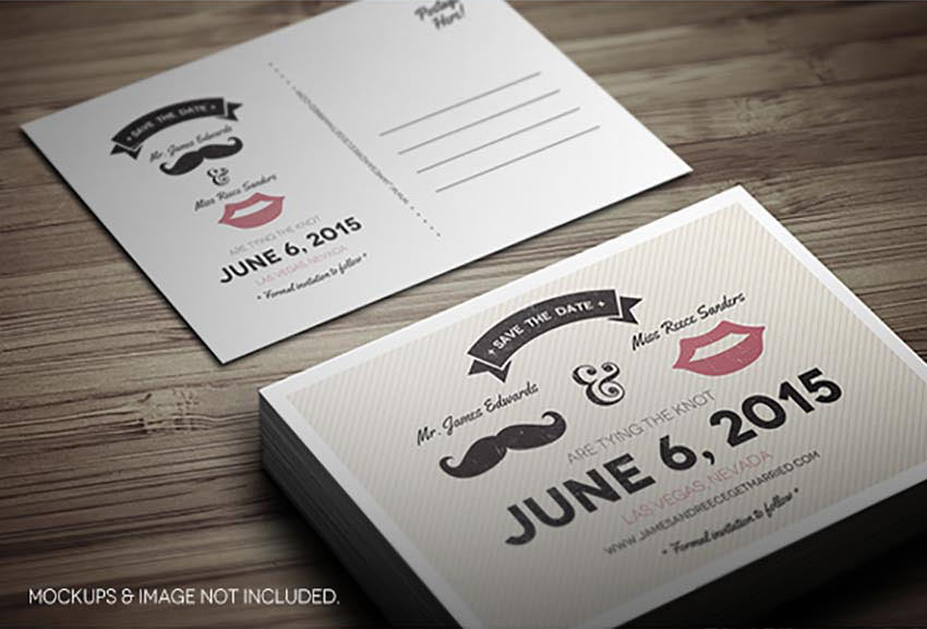 Save The Date Postcard - Volume 5
