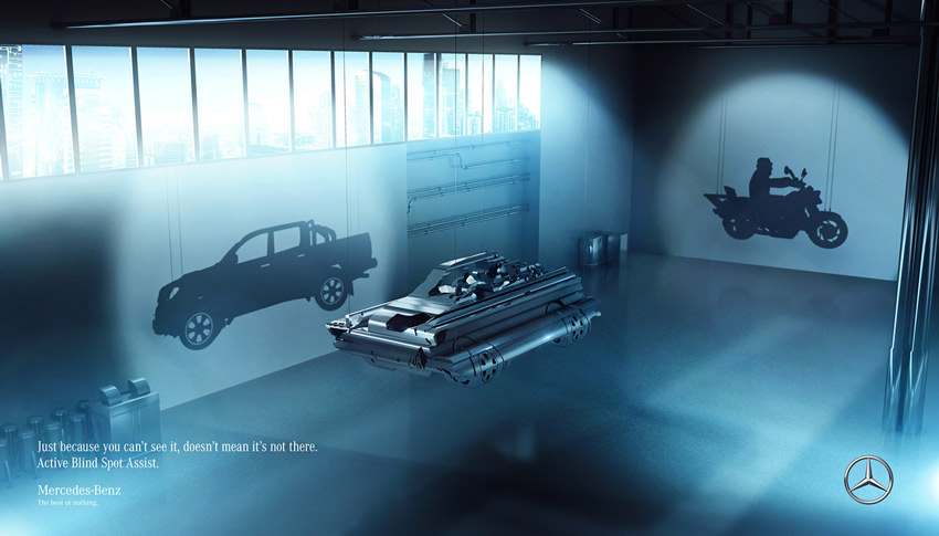 Mercedes Benz Viewpoints - BBDO Chile by Marcelo Moya Ochoa