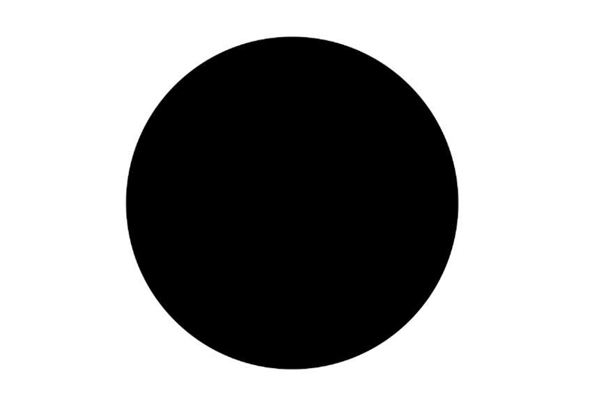 Create a Large Black Circle