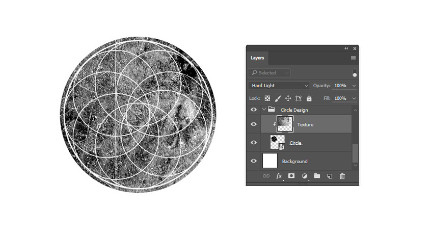 Add Texture to the Smart Object