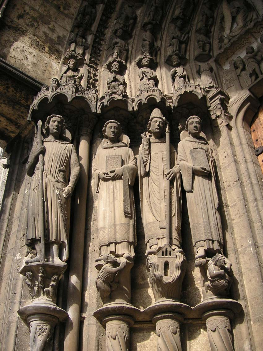 Gothic Art Sculptures From The Middle Ages