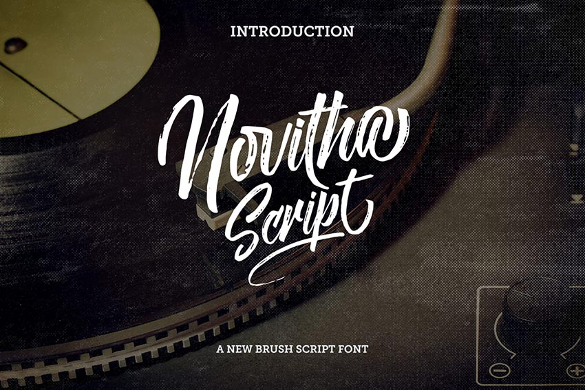 Novitha Script Cursive Font Style