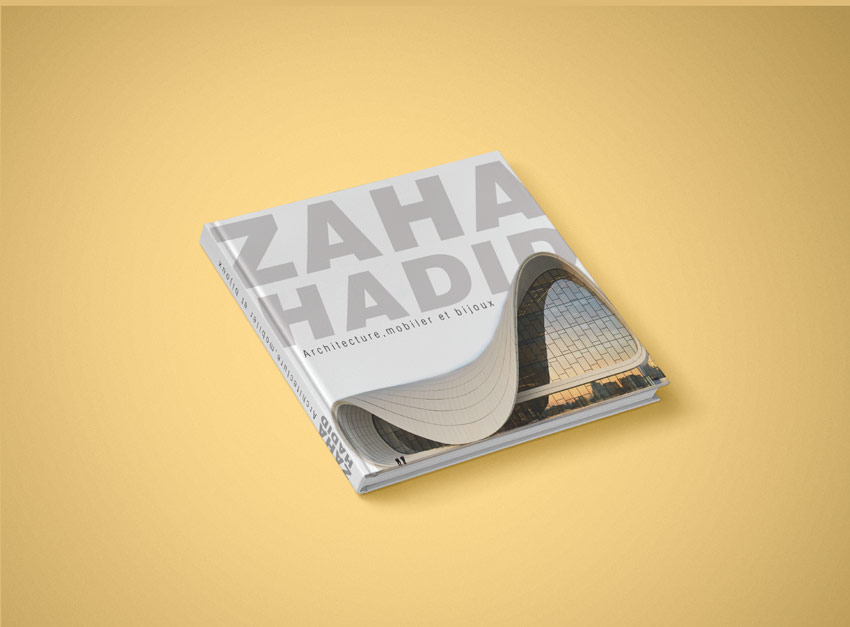 Book Design Zaha Hadid by Yousra Kessam